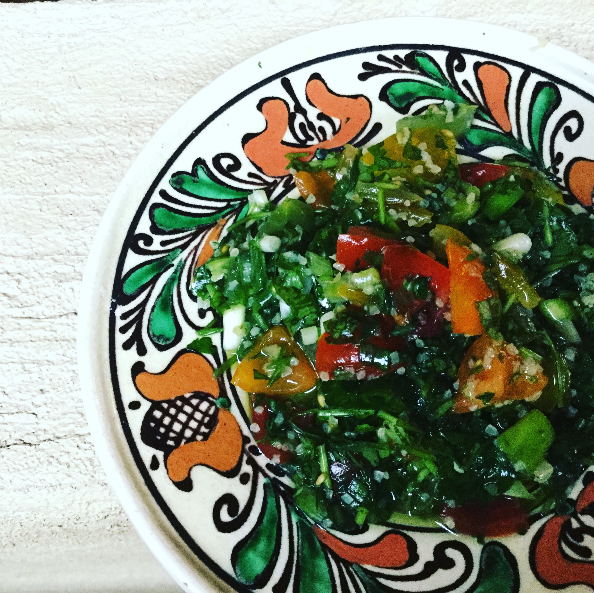 フランスの国民食ブルグル、クスクスとパセリのグリーンサラダ【タブレ】ってどんなの?