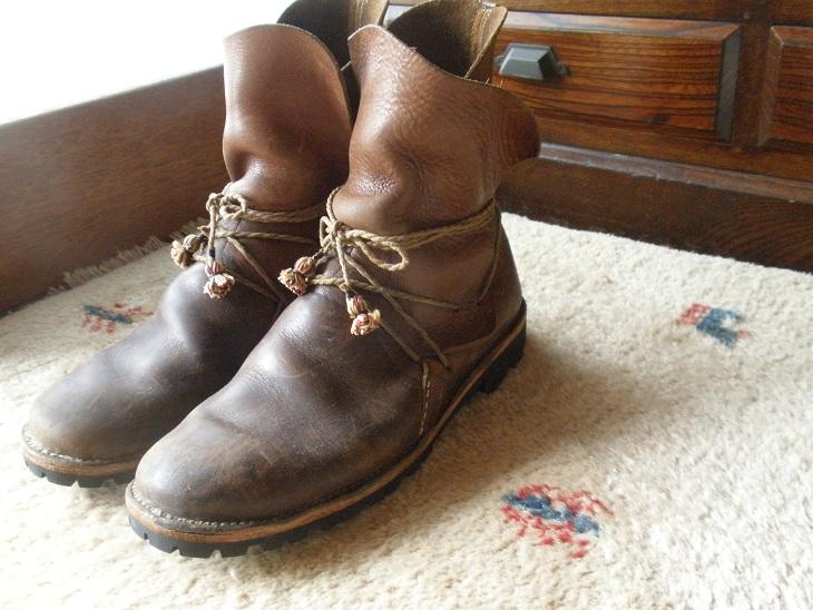 オーダーメイドでの靴作り【ブーツ編】