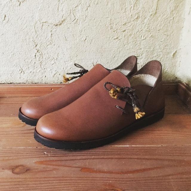 オーダメイドの靴作り【バブーシュ編】