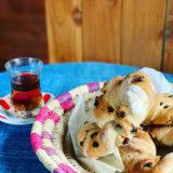 トルコのリングパン【シミット】チョコバージョンのレシピ