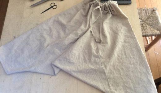 【伝統服】リスパンツからの発想